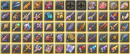 Nostale Crafting Items